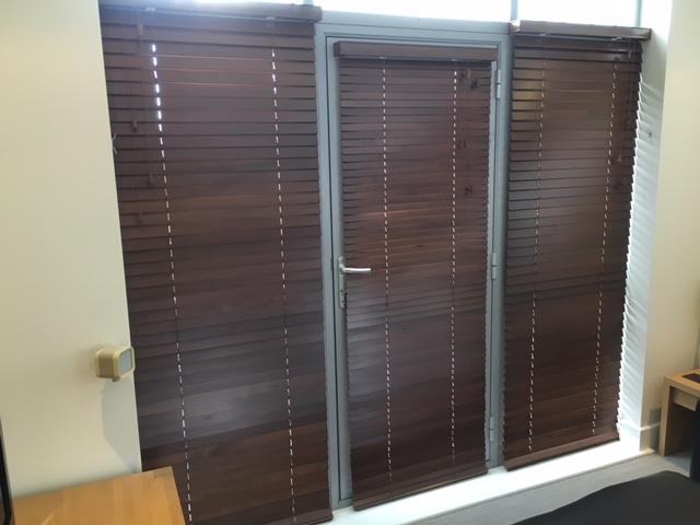 Wood Side Glass & Door
